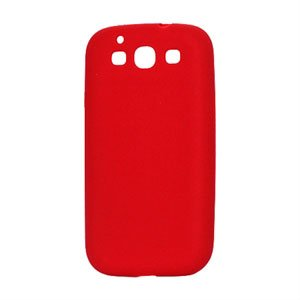 Billede af Samsung Galaxy S3 Silikone cover fra inCover - rød