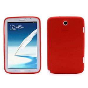 Billede af Samsung Galaxy Note 8.0 inCover Silikone Cover - Rød