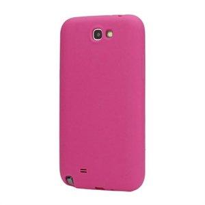 Billede af Samsung Galaxy Note 2 Silikone cover fra inCover - rosa