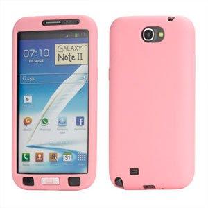 Billede af Samsung Galaxy Note 2 Silikone cover fra inCover - pink