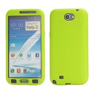 Billede af Samsung Galaxy Note 2 Silikone cover fra inCover - limegrøn