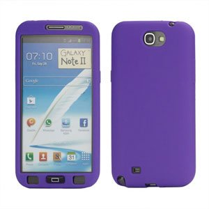 Billede af Samsung Galaxy Note 2 Silikone cover fra inCover - lilla