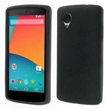 Billede af Nexus 5 inCover Silikone Cover - Sort