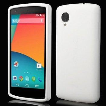Billede af Nexus 5 inCover Silikone Cover - Hvid