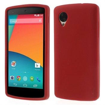 Billede af Nexus 5 inCover Silikone Cover - Rød