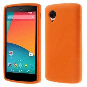 Billede af Nexus 5 inCover Silikone Cover - Orange
