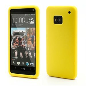 Billede af HTC One inCover Silikone Cover - Gul