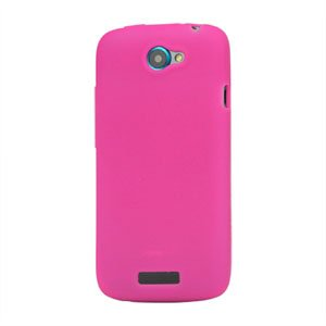Image of HTC One S Silikone cover fra inCover - rosa