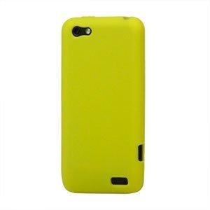 Billede af HTC One V Silikone cover fra inCover - gul
