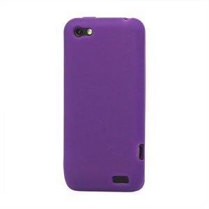 Billede af HTC One V Silikone cover fra inCover - lilla
