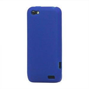 Billede af HTC One V Silikone cover fra inCover - blå