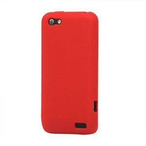 Billede af HTC One V Silikone cover fra inCover - rød