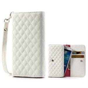 Image of   Flot taske med rem og kreditkortholder - hvid