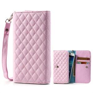 Image of   Flot taske med rem og kreditkortholder - pink