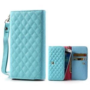 Image of   Flot taske med rem og kreditkortholder - blå