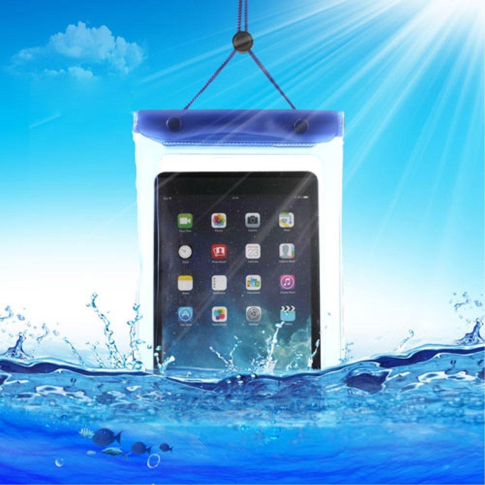 Billede af Universal Vandtæt Tabletpose i Blå - 23,5 x 16,3 cm