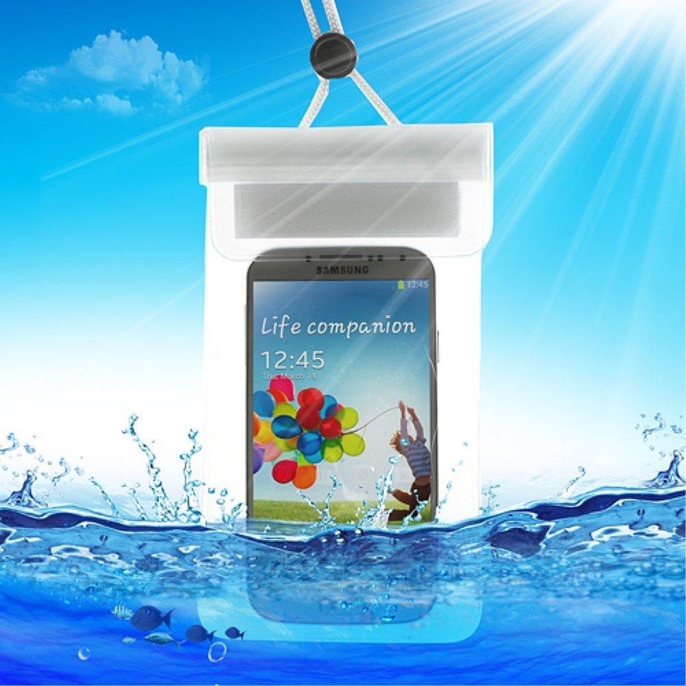 Billede af Universal Vandtæt Mobilpose i Hvid - 13,5 x 9 cm