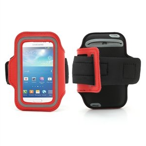 Image of   Samsung Galaxy S4 Mini Sports Armbånd - Rød