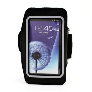 Image of   Samsung Galaxy S4 Sports Armbånd - Sort