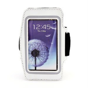 Image of   Samsung Galaxy S4 Sports Armbånd - Hvid