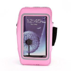 Image of   Samsung Galaxy S4 Sports Armbånd - Pink