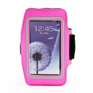 Image of   Samsung Galaxy S4 Sports Armbånd - Rosa