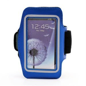 Image of   Samsung Galaxy S4 Sports Armbånd - Blå