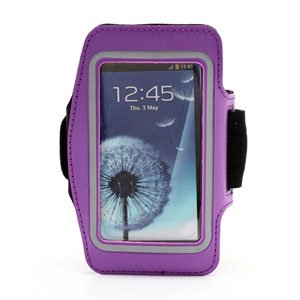 Image of   Samsung Galaxy S4 Sports Armbånd - Lilla