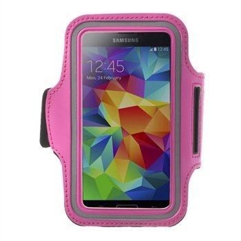 Image of   Samsung Galaxy S5/S5 Neo Sports Armbånd - Rosa