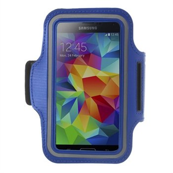 Image of   Samsung Galaxy S5/S5 Neo Sports Armbånd - Blå