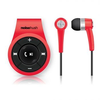 Billede af NoiseHush NS560 Clip-On Bluetooth Headset & Høretelefoner - Rød