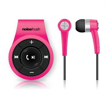 Billede af NoiseHush NS560 Clip-On Bluetooth Headset & Høretelefoner - Pink