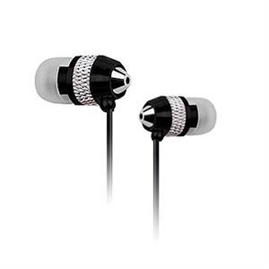 Billede af NoiseHush NX40 Stereo høretelefoner med mikrofon - sort/sølv