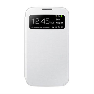 Image of   Samsung Galaxy S4 S-View Mobiltaske/Etui - Hvid