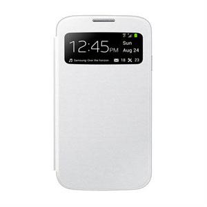 Image of   Samsung Galaxy S4 S-View Mobiltaske/Etui - Hvid