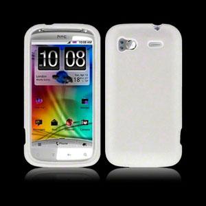 Image of HTC Sensation og HTC Sensation XE Silikone cover fra inCover - hvid