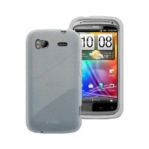 Image of HTC Sensation og HTC Sensation XE Silikone cover fra inCover - gennemsigtig