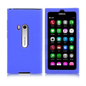 Image of Nokia N9 Silikone cover fra inCover - blå