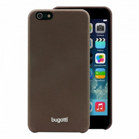Image of Apple iPhone 6/6s Plus Bugatti SoftCover Nice Cover - Brun