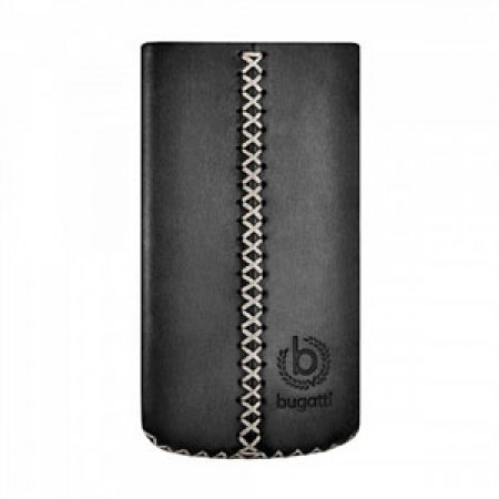 Image of   Bugatti Cross luksus mobiltaske/etui - sort læder