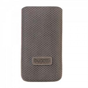 Image of   Bugatti Perfect Scale luksus mobiltaske/etui - grå læder
