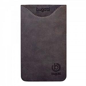 Image of   Bugatti Skinny Steel Leather luksus mobiltaske/etui - grå læder