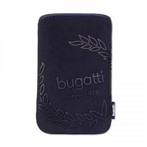 Image of   Bugatti SlimCase mobiltaske/etui - blå
