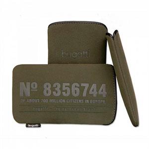 Image of   Bugatti SlimCase mobiltaske/etui - grøn