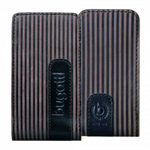 Image of   Bugatti Twin Leather luksus mobiltaske/etui - brun