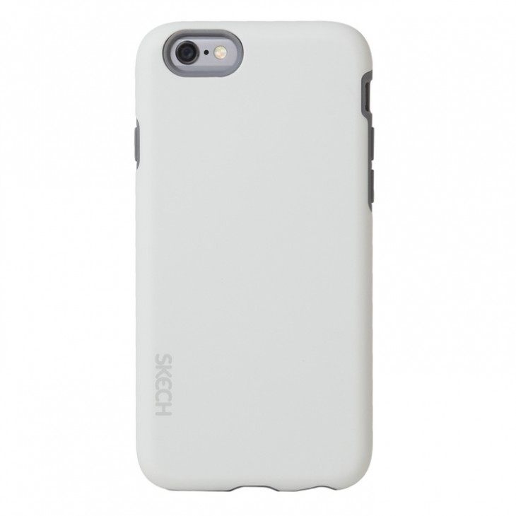 Image of   Apple iPhone 6/6s Skech Bounce Cover - Hvid/Grå