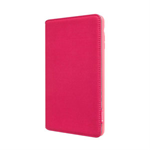 Image of   Apple iPad mini CANVAS taske/etui med stand fra SwitchEasy - pink