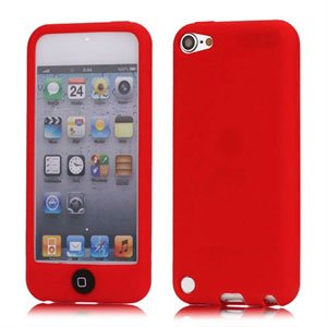 Apple iPod Touch 5G Silikone cover fra inCover - rød