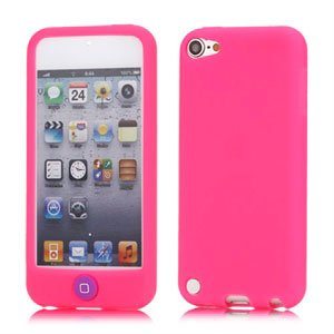 Apple iPod Touch 5G Silikone cover fra inCover - rosa