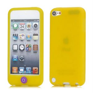 Apple iPod Touch 5G Silikone cover fra inCover - gul